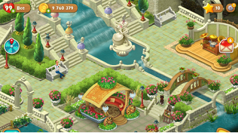 Gardenscapes на андроид