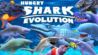 Hungry Shark Evolution на андроид