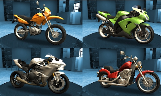 Racing Fever: Moto много денег
