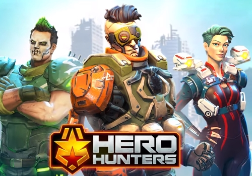взломанный Hero Hunters