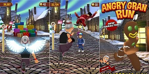 Angry Gran Run на андроид