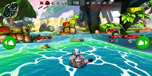 Battle Bay на андроид