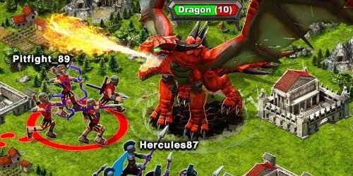 Game of War Fire Age на андроид
