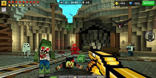 Pixel Gun 3D на андроид