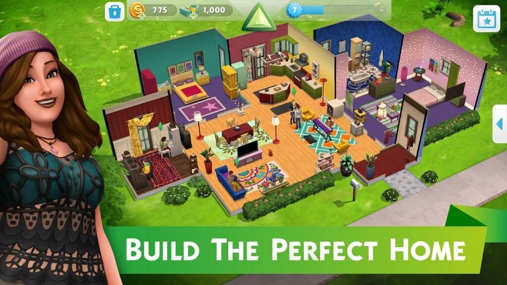The Sims Mobile взлом