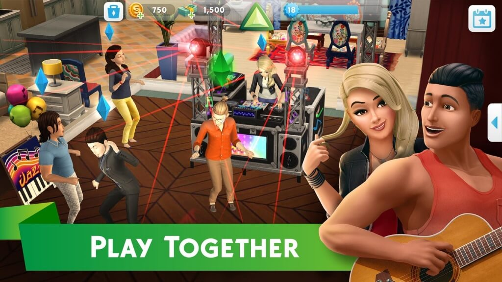 The Sims Mobile мод