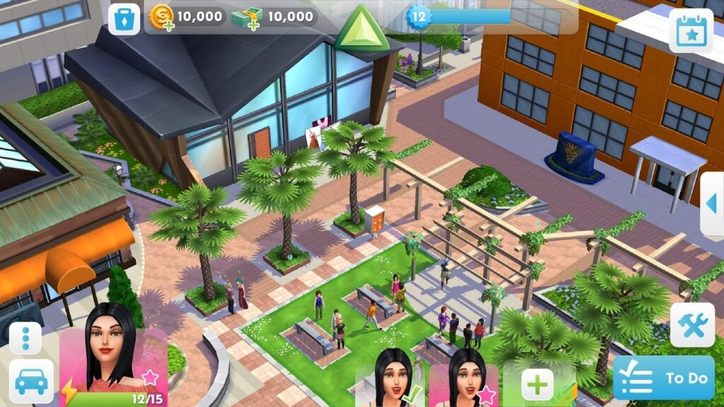 The Sims Mobile много денег