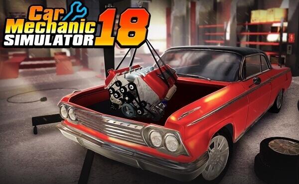 Car Mechanic Simulator 18 взломанный