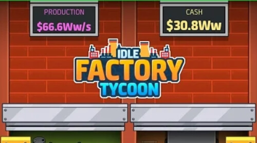 Idle Factory Tycoon мод много денег