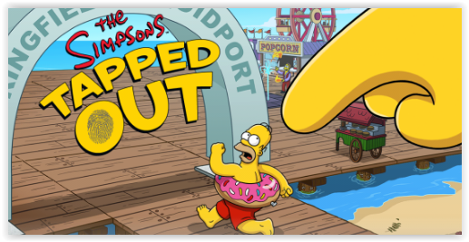 Simpsons Tapped Out на андроид