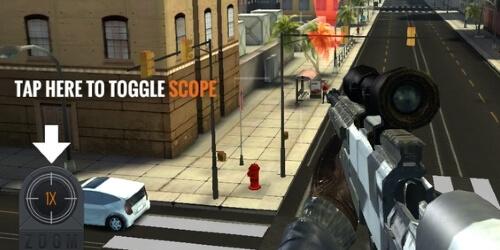 Sniper 3D Assassin на андроид