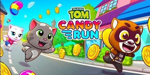 Говорящий Том: за конфетами на Андроид