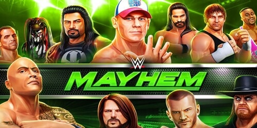 WWE Mayhem на Андроид
