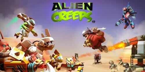 Alien Creeps на Андроид