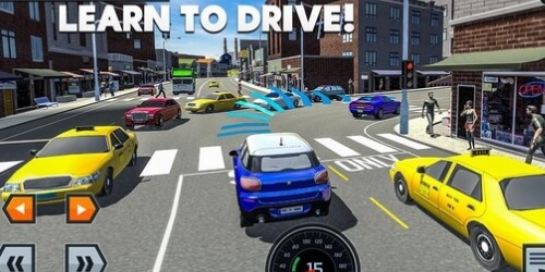 Car Driving School Simulator на Андроид