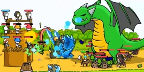 Grow Castle на Андроид