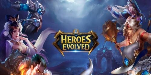 Heroes Evolved на Андроид