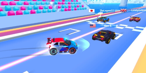 SUP Multiplayer Racing на Андроид