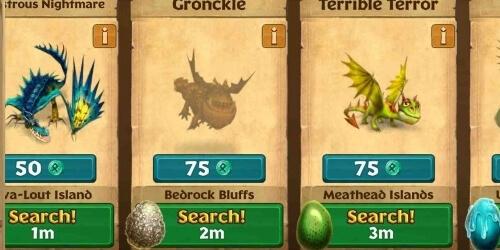 Dragons на Андроид