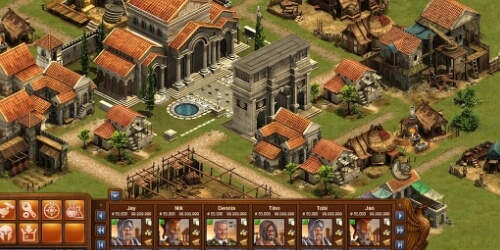 Forge of Empires на Андроид