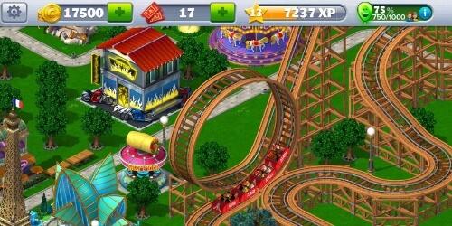 RollerCoaster Tycoon на Андроид