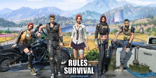 RULES OF SURVIVAL на Андроид