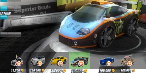 Table Top Racing на Андроид
