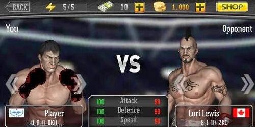 Царь бокса на Андроид