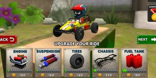 Mini Racing Adventures на Андроид