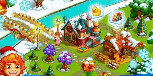 Новогодняя ферма на Андроид