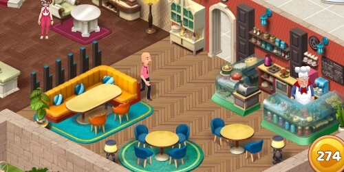 Manor Cafe на Андроид