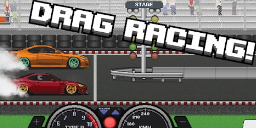 Pixel Car Racer на Андроид