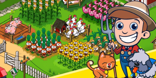 Idle Farming Empire на Андроид