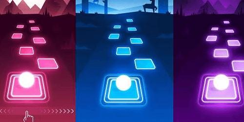 Tiles Hop на Андроид
