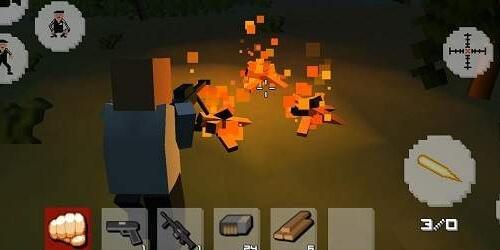 Выживание зомби Крафт на Андроид