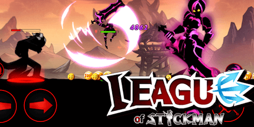 League of Stickman 2019 на Андроид