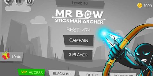 Mr Bow на Андроид