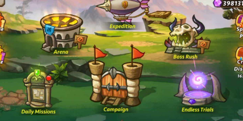 Castle Defense на Андроид и IOS: