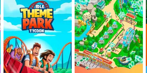 Idle Theme Park на Андроид