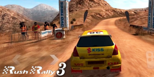 Rush Rally 3 на Андроид