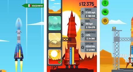 Rocket Sky на Андроид