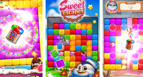 Sweet Escapes на Андроид