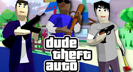 Dude Theft Wars на Андроид
