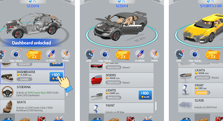 Idle Car на Андроид