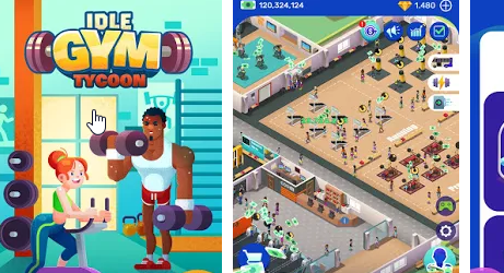 Idle Fitness Gym Tycoon на Андроид