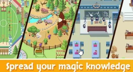 Idle Wizard School на Андроид