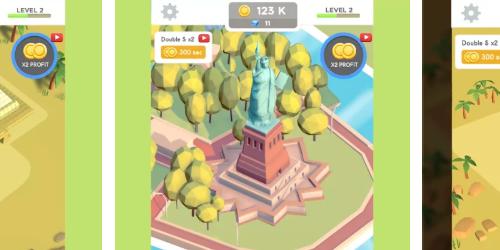 Idle Landmark на Андроид