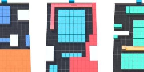 Fill Color 3D на Андроид