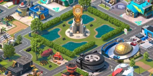 Overdrive City на Андроид