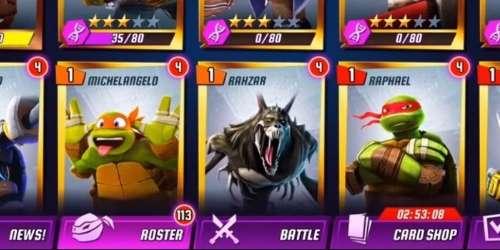 Черепашки-Ниндзя Легенды на Андроид